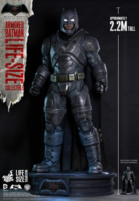 Hot Toys - BVS - Armored Batman Life-Size Collectible_PR1